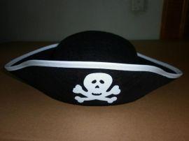 万圣节帽子 三角帽 船形帽 海盗帽子 鬼帽(SX608H-23)