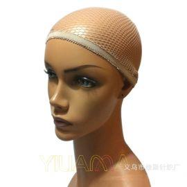 亞馬遜速賣通廠家直銷微商爆款賣斷貨網眼上花邊頭帽醫療帽