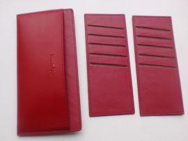 多卡套真皮夾 大容量真皮卡包真皮卡包 超薄可定制logo