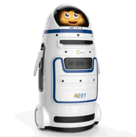 进化者小胖家庭投影学习视频教育机器人厂家