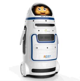 進化者小胖家庭投影學習視頻教育機器人廠家