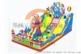 陝西咸陽兒童充氣滑梯摩天輪新穎款式