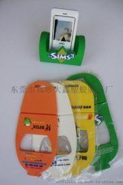定制pvc手机座 广告手机座 硅胶手机座