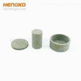 不锈钢小圆形烧结粉末冶金过滤片 耐高温烧结滤片