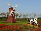 户外荷兰风车_ 室外景观风车_ 广场景观风车
