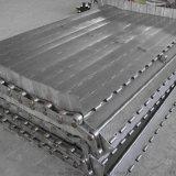 580型烘干机链板不锈钢链板输送带山东链板厂家