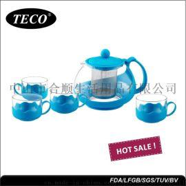 合顺TCS-P002玻璃茶具套餐