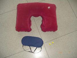 深圳厂家生产充气植绒枕