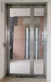 广东肇庆玫瑰金不锈钢甲级玻璃防火玻璃门,广东肇庆彩色不锈钢玻璃防火玻璃门制造厂家