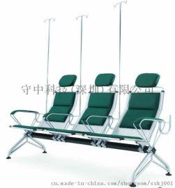 SZ001医用门诊三人不锈钢侯诊输液椅