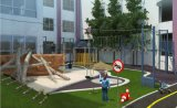 戶外兒童樂園無動力樂園設計木質滑梯原生態拓展設施