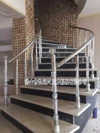 直销亚克力有机玻璃楼梯扶手 水晶罗马柱 可定制