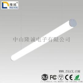 圆形创意吊灯 LED办公吊线灯日光灯