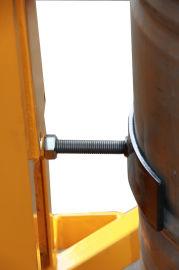 敬华物流DT300半电动油桶堆高车直角支腿
