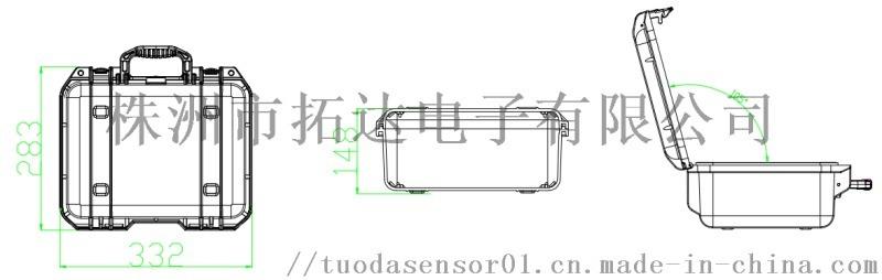便携式高精度二氧化碳浓度分析仪
