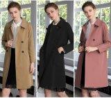 拿货要多少钱嘉贝逸飞20年春装新款女式风衣外套
