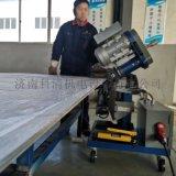 山东青岛压力容器自动行走平板铣边机
