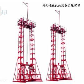 经营建筑施工龙门架建筑提升机,自升式吊兰送料垂直升降机