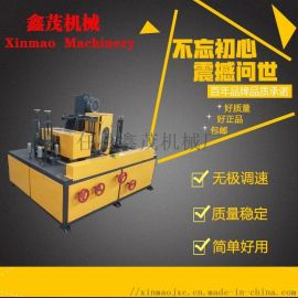 圆管表面处理设备钢管除锈机