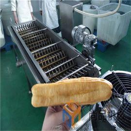 全自动茴香油条油炸机 连续电热锅炸油条机生产线设备