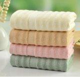 廠家直銷素色竹纖維波浪浴巾