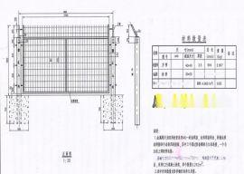 框架型铁路隔离网 珠海铁轨边框护栏 广珠防爬围栏网