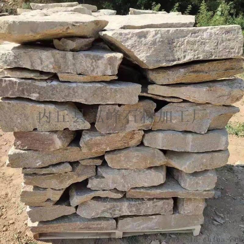 新款河北垒墙石  毛石   砌墙石