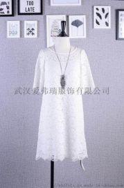 品牌折扣女裝走份惠景媛時尚連衣裙分份走量