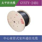 【太平洋光纜】中心束管式室外光纜 GYXTY-24B1 24芯單模
