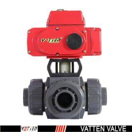 德国VATTENQ41F-16P 气动球阀中德合资上海工厂 电动三通塑料球阀
