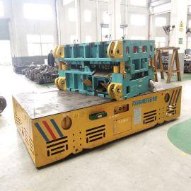 蓄电池遥控转弯平车 搬运变频器无轨电动平车 电动牵引平板车