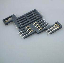厂价直销现货右开关8+2成品MICRO SIM卡座直插式智能电子连接器