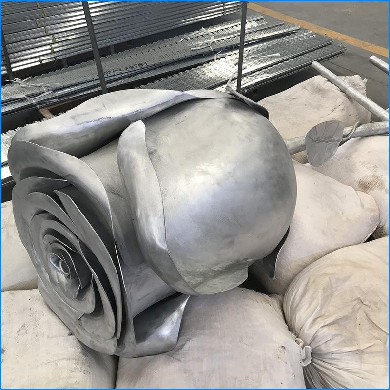 """""""花朵""""造型鋁單板 雙面弧形鋁單板 加工定製氟碳外牆雙曲鋁單板"""