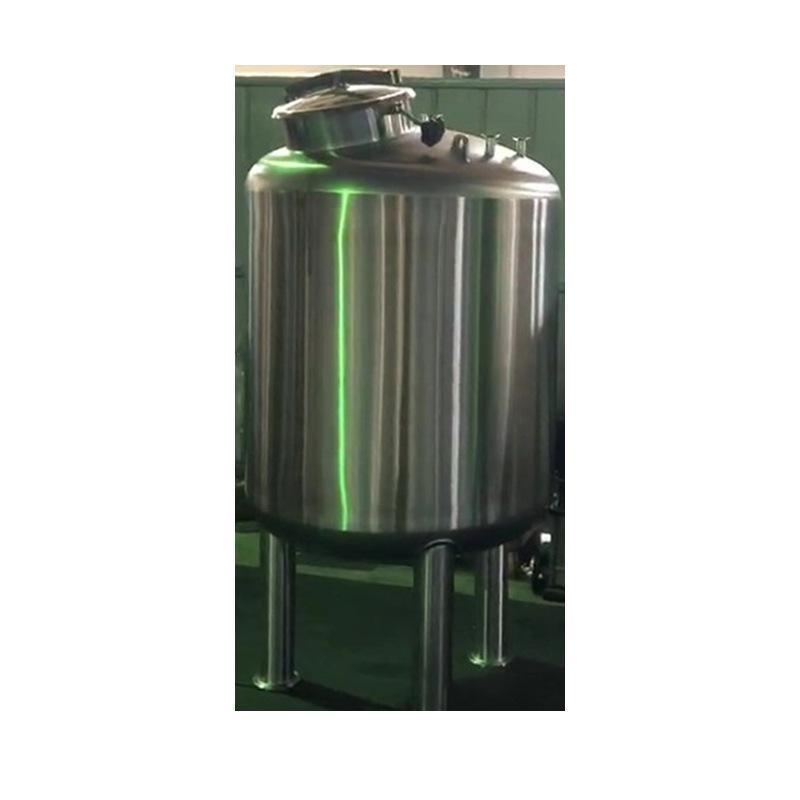 HYC-G储水罐厂家 不锈钢双层夹套 保温储水罐