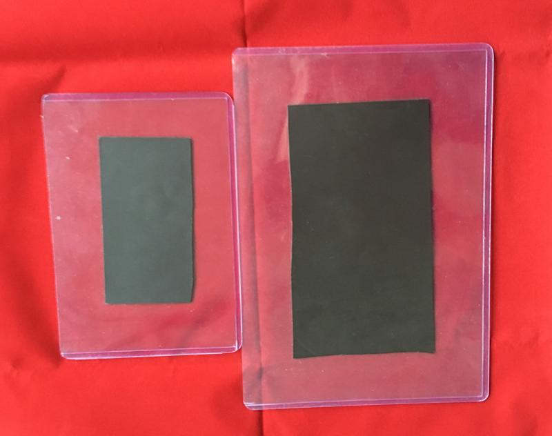 PVC装得快硬胶套 带磁标价牌 带磁标价套