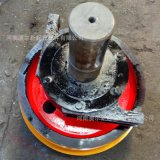 現貨銷售 單樑起重機行車輪組  鑄鋼55號車輪組