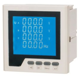LEF818U-2K4Y三相电压表 液晶显示电压表 外形120*120交流电压表