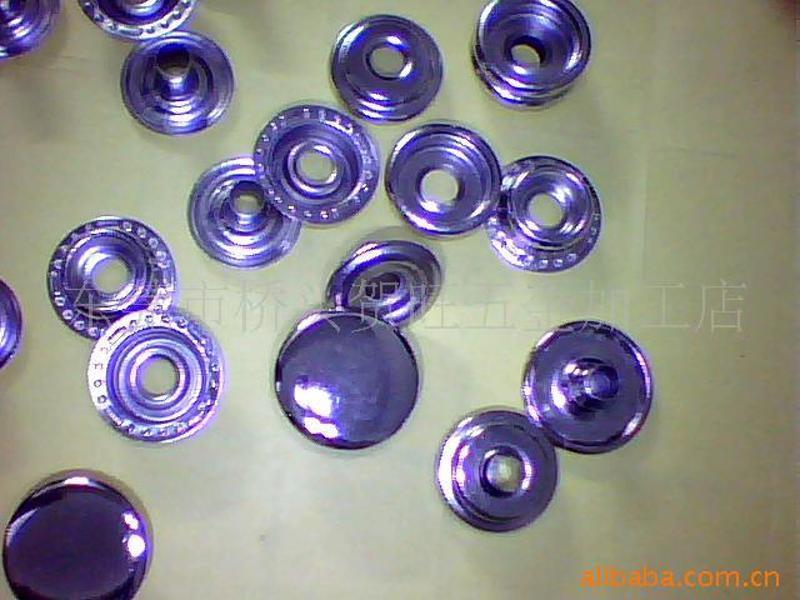 廠家長期生產不鏽鋼大白扣車縫鈕