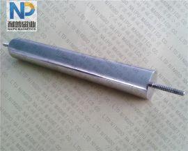 螺纹磁棒, 螺杆磁棒, 螺丝磁力棒, 强磁棒, 除铁棒, 吸铁磁棒, 除铁磁棒