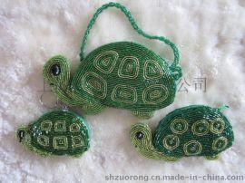 珠绣零钱包 串珠小钱包 珠珠钱包 珠绣手袋 珠片包 手工亮片包 珠包
