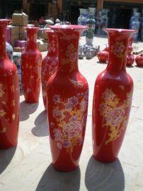 乔迁大礼品 开业大摆件 西安大花瓶 景泰蓝花瓶 青花瓷花瓶
