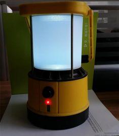 可做夜灯和野营灯使用的多功能锂电池太阳能手提灯