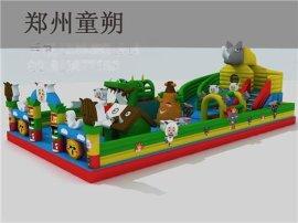 童朔ts-43儿童充气城堡玩具  熊出没充气城堡