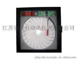 中圆图自动平衡记录仪