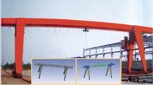 龍門吊山東廠家直銷MH型電動葫蘆門式起重機行車