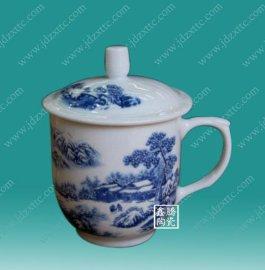供应景德镇陶瓷厂家,直销陶瓷茶杯,会议茶杯
