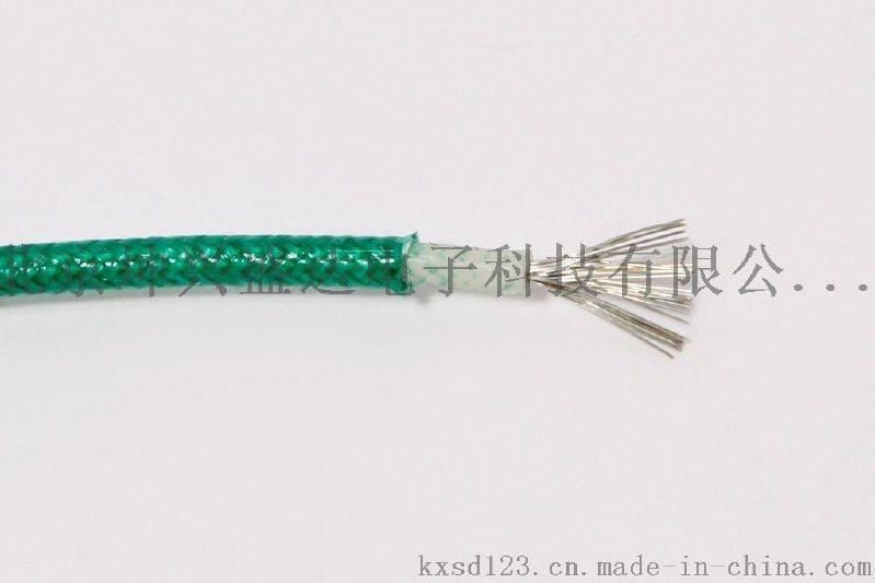 UL3122硅橡胶绝缘玻璃纤维编织护套高温电线