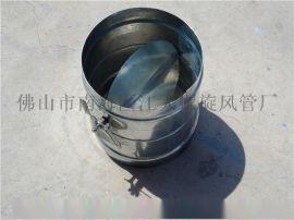 供应江大螺旋风管厂专业生产手动风阀、暖通风阀