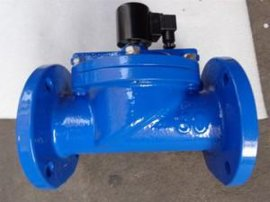 铸铁法兰电磁阀DF-F,大口径水用电磁阀