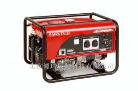 泽藤汽油5KW发电机组SH6500EX